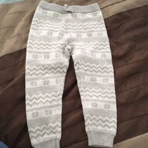 2t play condition Janie and Jack girl warm pants